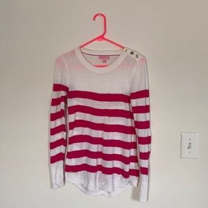 Lilly Pulitzer Curved Hem Sweater